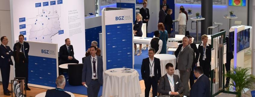 Der Messestand der BGZ auf der KONTEC 2019 in Dresden.