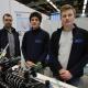 Ausbilder und Auszubildende der BGZ gaben in Salzwedel einen Einblick in das Berufsbild Eletroniker*in für Betriebstechnik. Foto: BGZ.