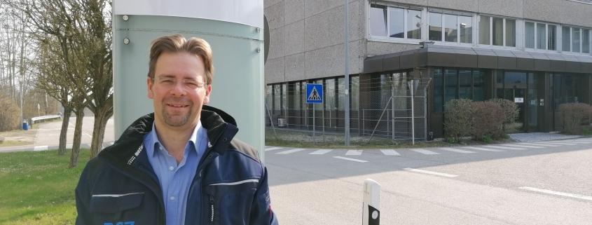 Markus Luginger leitet das Zwischenlager Isar.