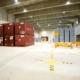 Container mit schwach- und mittelradioaktiven Abfällen im Zwischenlager Ahaus. Foto: BGZ/C. Mick